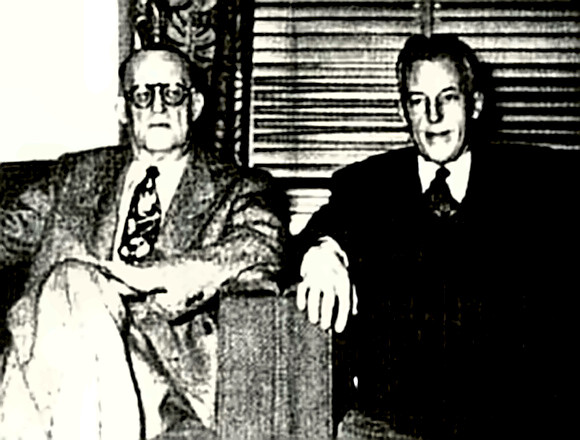 Alcoholics Anonymous founders Smith and Wilson