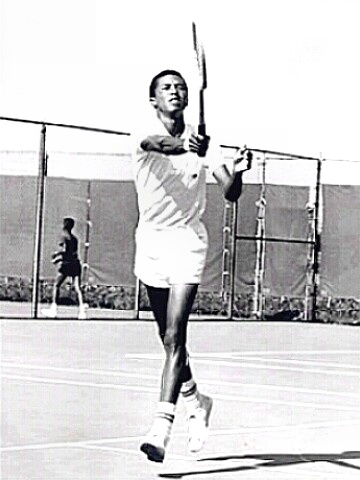 Tennis Hall of Famer Arthur Ashe