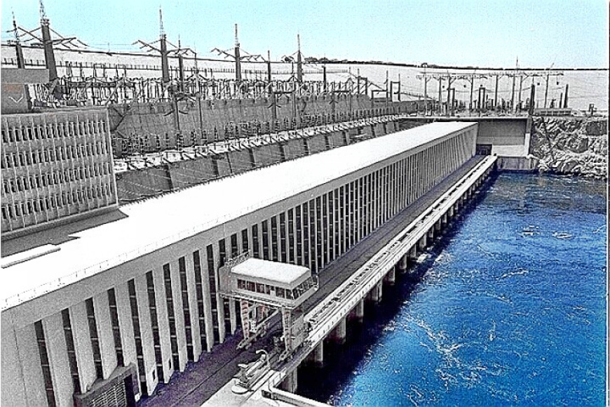 Aswan High Dam Power Generation Station