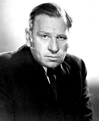 Actor Wallace F Beery