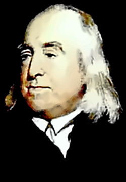 Philosopher Jeremy Bentham