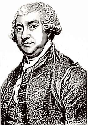 Biographer James Boswell