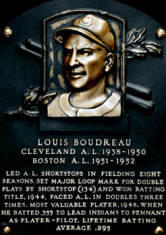 Hall of Famer Lou Boudreau