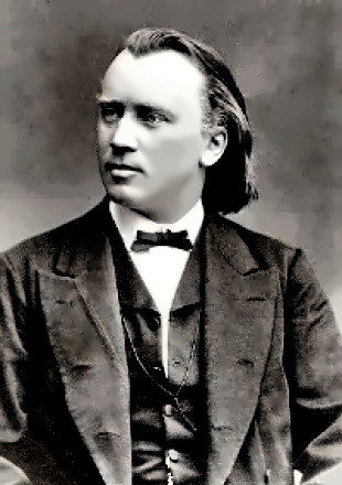 Young Johannnes Brahms