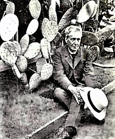 Naturalist Luther Burbank