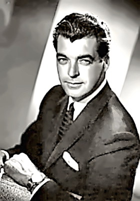 Actor Rory Calhoun