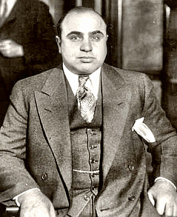 a biography of alphonse scarface capone For a complete outline biography  alphonse generally known as al capone, and by an alias, al brown nicknames: scarface in newspapers.