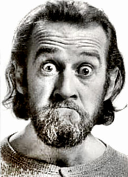 Comedian George Carlin