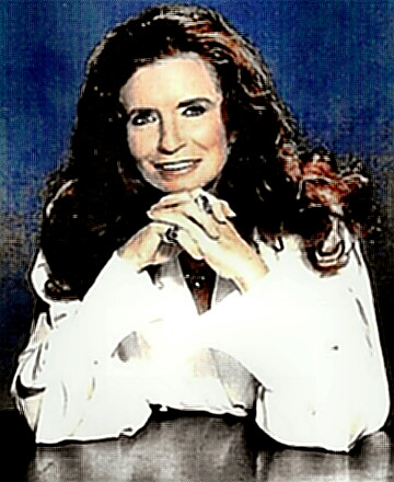 Singer June Carter Cash