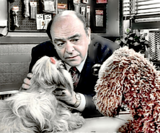 Actor James Coco & friends