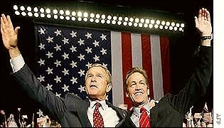 Coleman with President Bush
