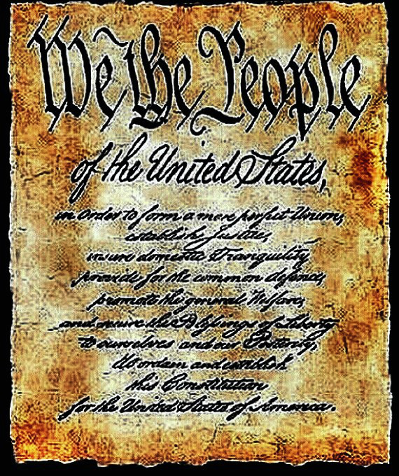US Constitution Preamble