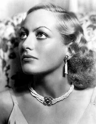 Actress Joan Crawford