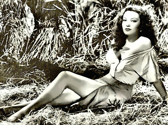 Actress Linda Darnell