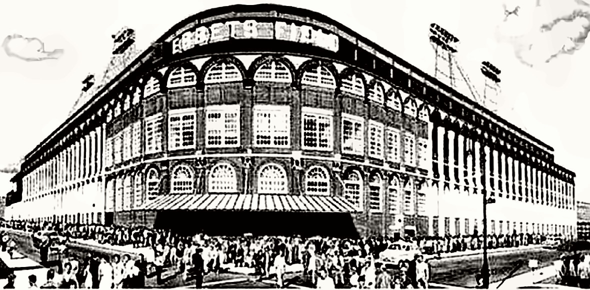 Ebbets Field - Ancestral Home of the Brooklyn Dodgers (both now deceased)