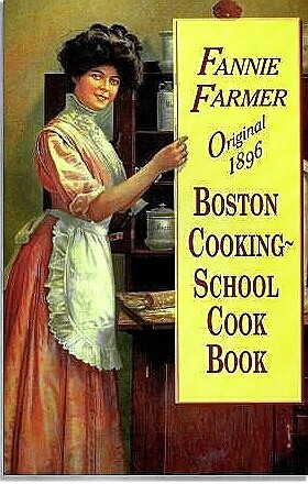 Fannie Farmer's famous cookbook