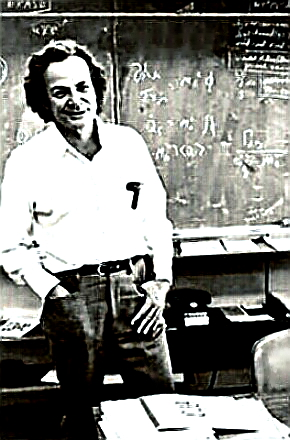 Nobel Physicist & Teacher Richard P. Feynman