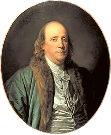 Benjamin Franklin portrait by Greuze