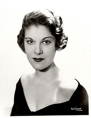 Actress Betty Lou Gerson