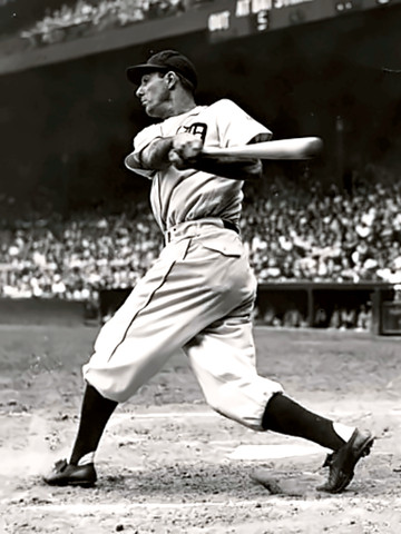 Hall of Fame hitter Hank Greenberg