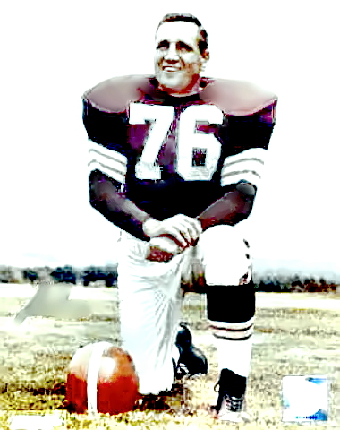 Browns Hall of Famer Lou 'The Toe' Groza