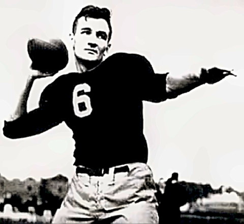 Football Great Tom Harmon