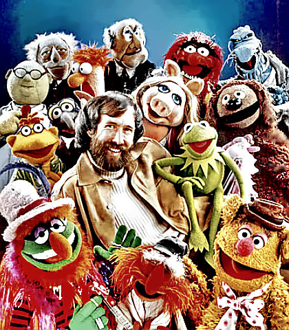 Jim Henson with friends
