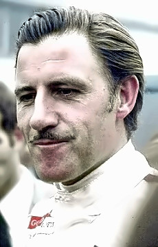 Champion Auto Racer Graham Hill
