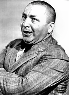 Super-stooge Curly Howard