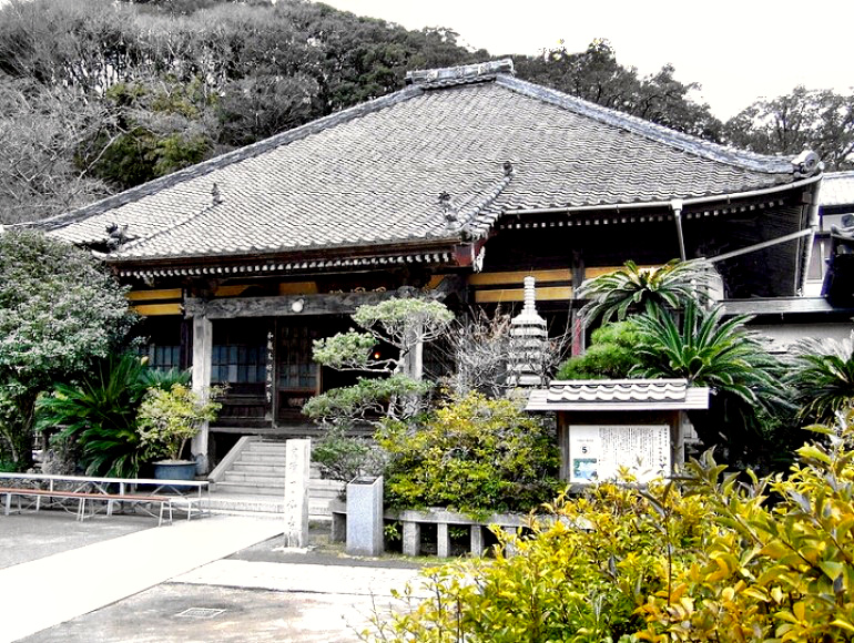 Ryo-sen-ji Temple in Shimoda, Japan, where the Treaty was signed
