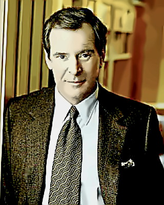 Journalist Peter Jennings