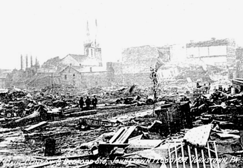 Johnstown, Pennsylvania, after flood disaster