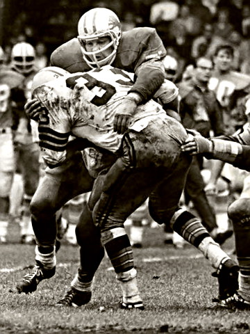 All-Pro Lion Alex Karras