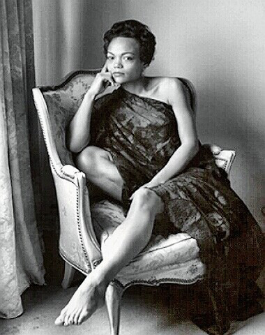 Singer Eartha Kitt