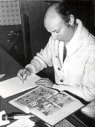 Cartoonist Harvey Kurtzman
