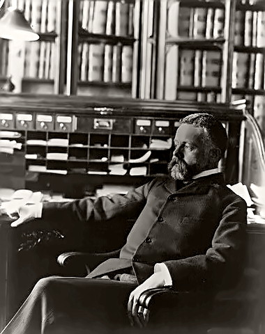 Historian Henry Cabot Lodge