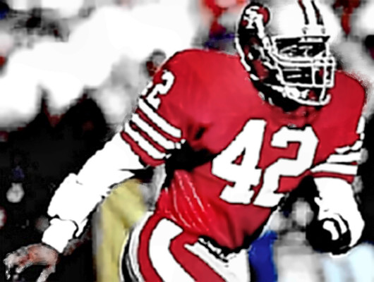 Hall of Fame 49er Safety Ronnie Lott
