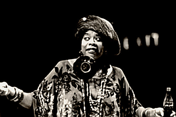 Singer Gertrude 'Ma' Rainey