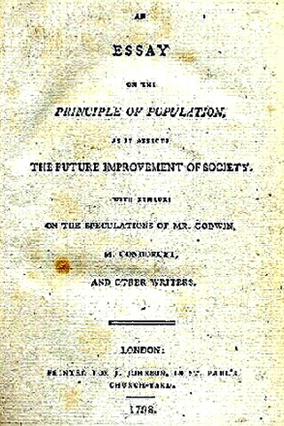 an essay on population by thomas malthus