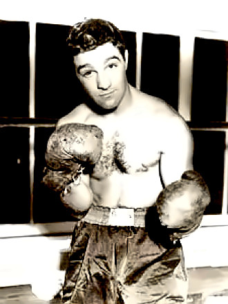 Undefeated Heavyweight Rocky Marciano