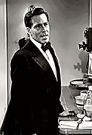 Actor Hugh Marlowe