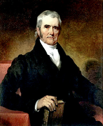a biography of john marshall When, in 1801, john marshall became chief justice of the united states, the supreme court was little more than a clause in the constitution and a.