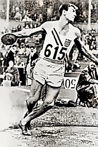 Decathlon Champion Bob Mathias