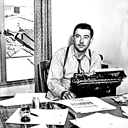 Writer W. Somerset Maugham young