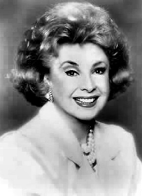 Actress Audrey Meadows