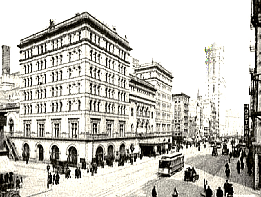 The Metropolitan Opera House in 1905