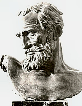 Bust of Michelangelo by Prati