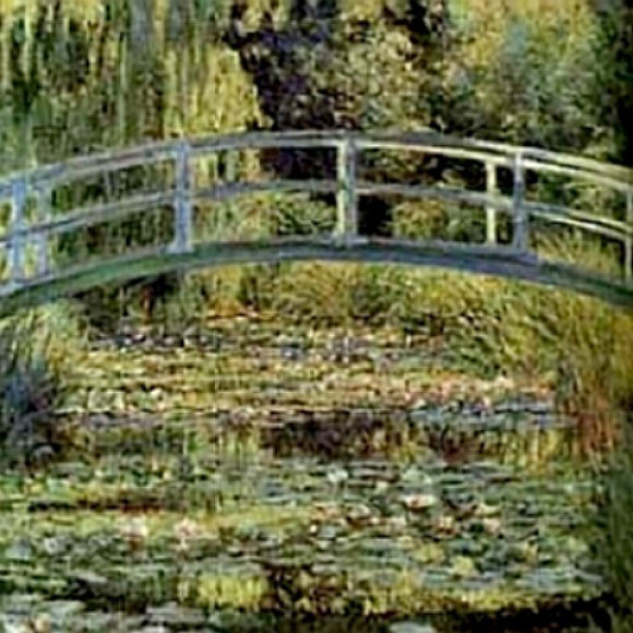 Monet's Waterlilies painting