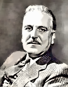 Actor Frank Morgan
