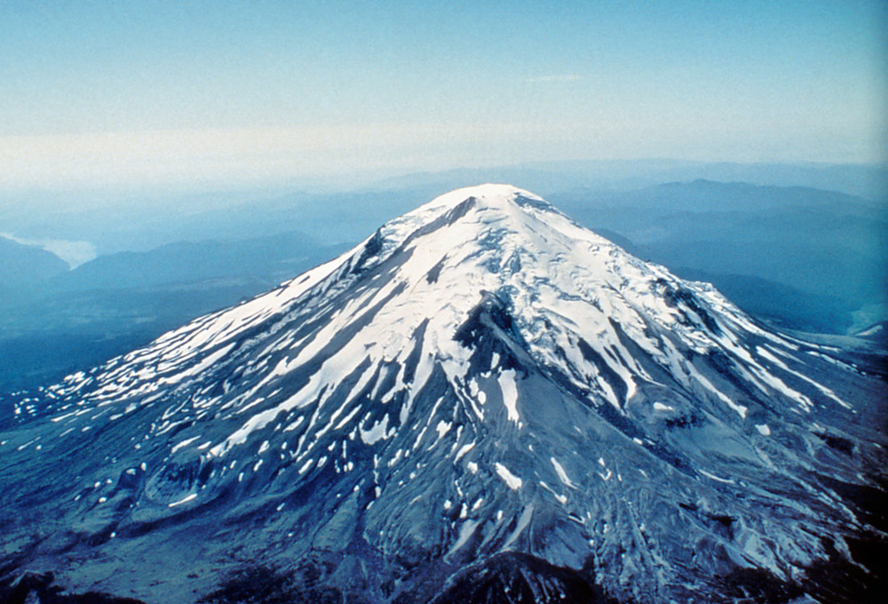 Mount St. Helens before